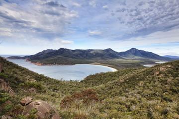 Tasmania Wineglass bay top day