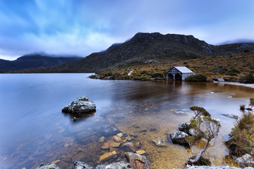 Tasmania Mt Cradle Lake Dove Hut