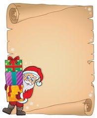 Christmas thematic parchment 6