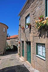 Portuguese medieval village Monsanto, Portugal