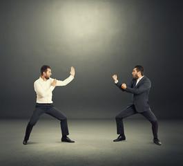 battle between two businessmen