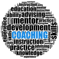 Coaching or self development concept