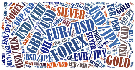 Currency pairs tradable on forex or fx market.