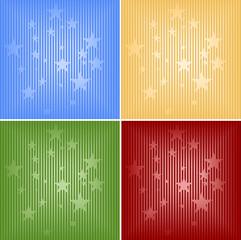 Vier weihnachtliche Hintergründe