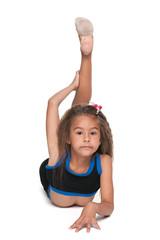 Pretty little gymnast