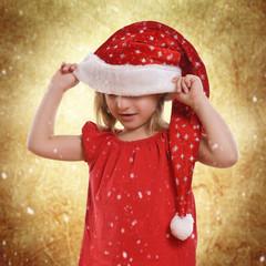 Kleinkind zur Weihnachtszeit