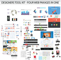 Designers toolkit - huge collection of web graphics