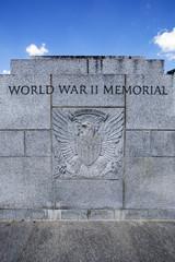 World War II memorial in Washington