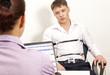 Leinwanddruck Bild - Lie Detector