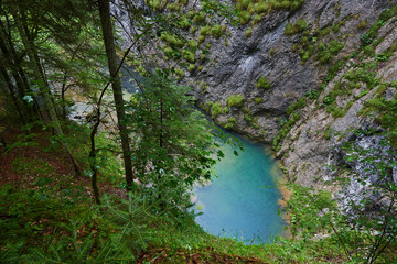 Karstic spring in Romania