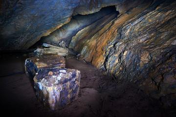 Coiba Mare cave in Romania
