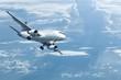 Jet maneuvering for landing