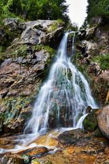 Varciorogului waterfall in Romania