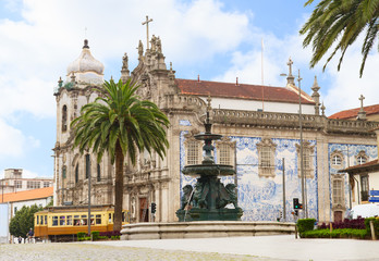 Carmelitas Church and  Carmo Church, Porto, Portugal