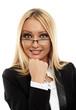 canvas print picture - Attractive businesswoman