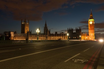 Big Ben at London England UK