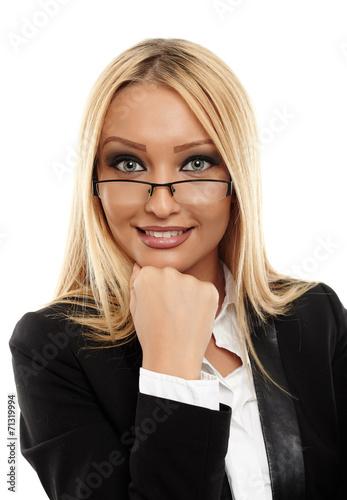 canvas print picture Attractive businesswoman