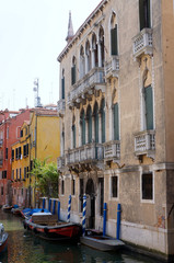 Classical Palace on a venetian canal