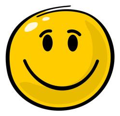 Glücklicher Smiley