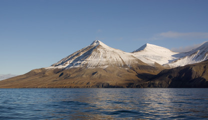Billefjorden in Svalbard