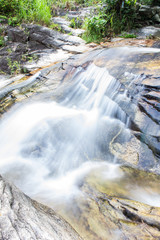 Wang Bua Ban waterfall in Doi Suthep-Pui Nationnal Park , Chiang