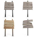Wooden board collection