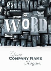 Word block customizable