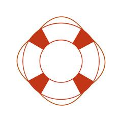 Orange safety ring