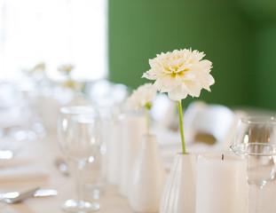 dinner flowers