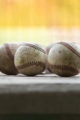 Baseball - Mitte scharf