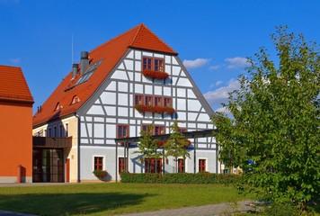 Grossraeschen Fachwerkhaus - Grossraeschen half-timber house 02