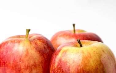 three red apples royal gala