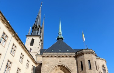 Notre-Dame Cathedral, Luxembourg