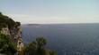 canvas print picture - Blick von der Insel auf Meer