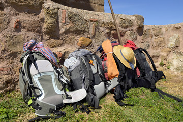 backpacking of pilgrims