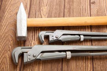 Hammer, pliers, tools