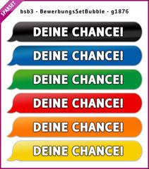 bsb3 BewerbungsSetBubble - Set DEINE CHANCE - g1876