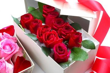 薔薇 ボックス プレゼント バラ風呂