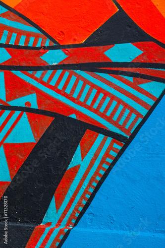 Street Art Abstract