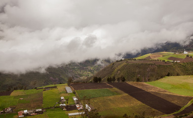 Andes hills, Ecuador, south america