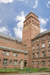 Leinwanddruck Bild - The building of the University in Freiburg