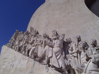 Perspectiva do Monumento dos Descobrimentos