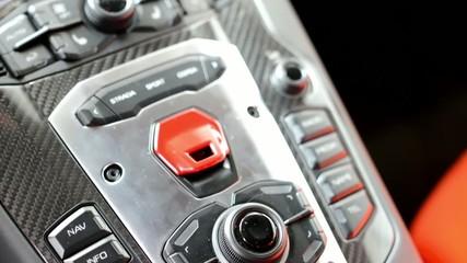 car dashboard - luxury fast car