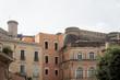 canvas print picture - Schöne alte Gebäude in Gaeta