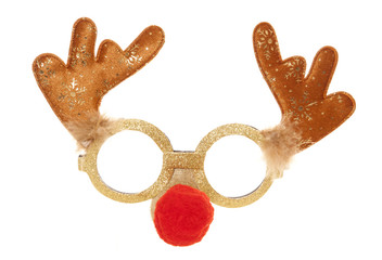Reindeer christmas party mask
