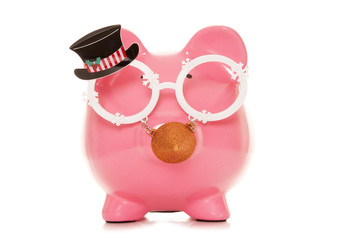 work christmas party piggy bank