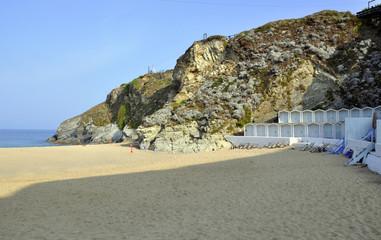 Morning beach  and Atlantic ocean