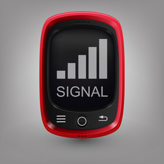 Red phone. Signal