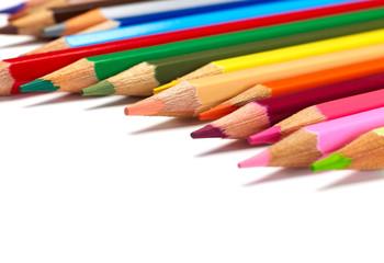 Pencils close-up