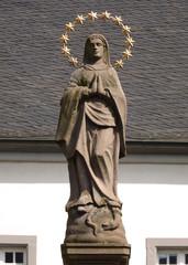 Marienstatue in der Abtei Brauweiler